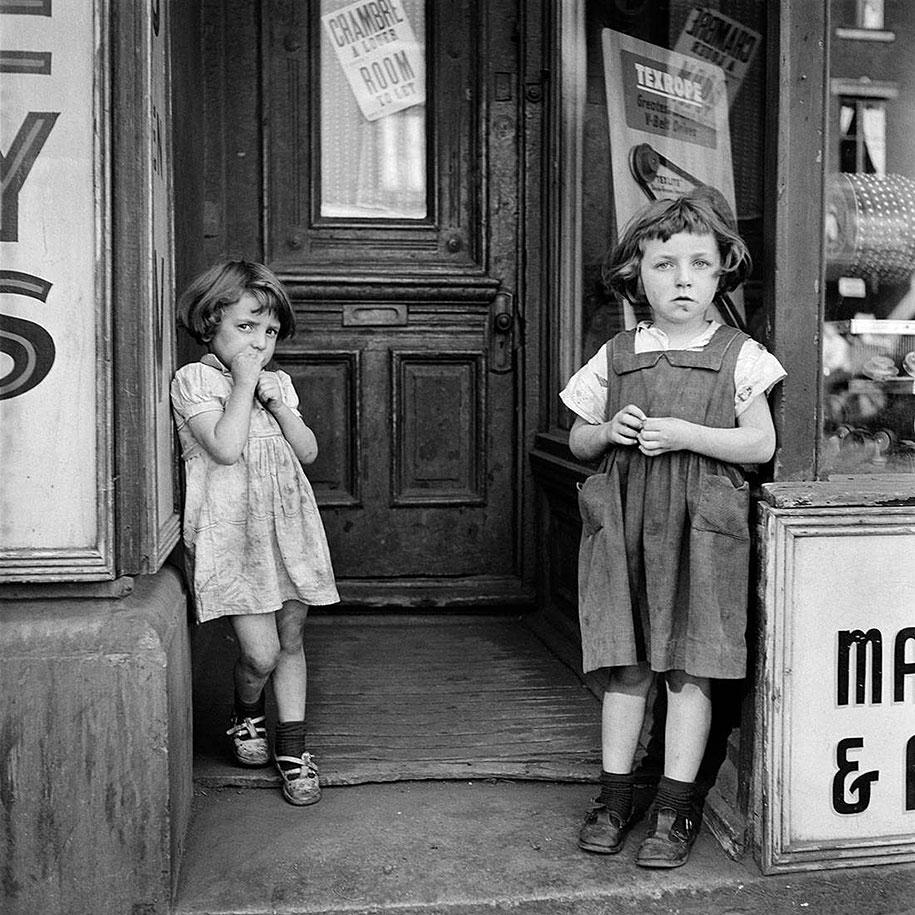 Проникновенные и глубокие снимки городской жизни Нью-Йорка и Чикаго периода 50-х-60-х годов