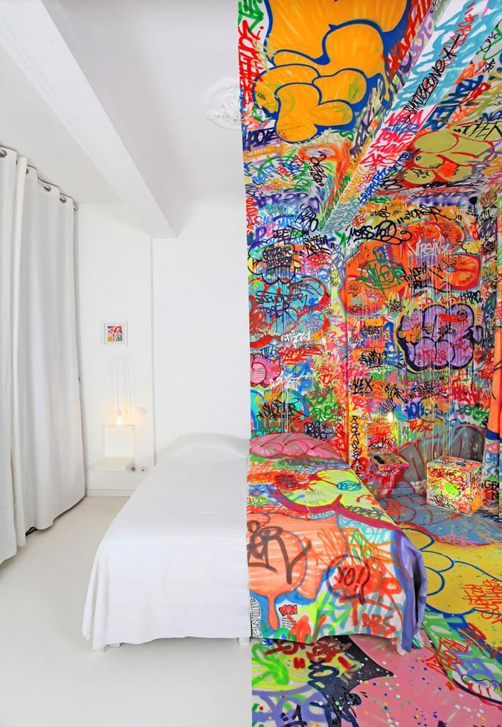 Номер Half Graffiti, Марсель, Франция