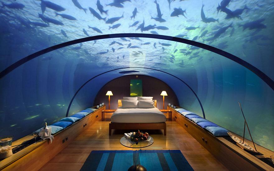 Отель Conrad Maldives, остров Рангали