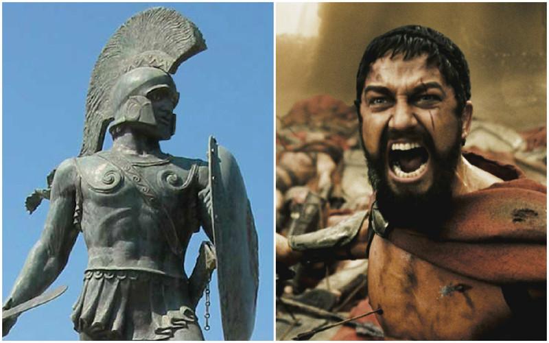 Леонид — царь Спарты из рода Агидов, правивший в 491 до н. э.—480 до н. э., сын Анаксандрида. Считался потомком Геракла в 20-м поколении. За десять лет своего царствования Леонид не сделал ничего знаменательного, но обессмертил своё имя сражением при Фермопилах. Он защищал с 6 тысячами воинов (в том числе и личной гвардией из 300 спартанцев) Фермопильский проход при наступлении персидских войск и погиб в бою.