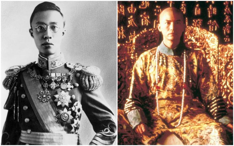 Последний император маньчжурской династии Цин – Айсиньцзюэло (по-маньчжурски Айсин Гиро — «золотой род») родился 7 февраля 1906 году, а уже в 1908 году возведён на престол. В результате революции 1911 года Пу И 12 февраля 1912 года отрёкся от престола. Власть перешла к президенту Юань Шикаю. Прожив 13 лет в «льготных условиях», Пу И в 1924 года был изгнан республиканской армией. В 1932 году он становится верховным правителем Маньчжоу-Го. 19 августа 1945 года — последний день правления последнего императора Китая.