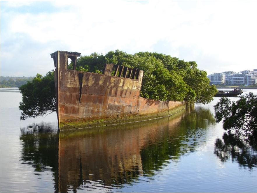 100-летний корабль в Сиднее, Австралия