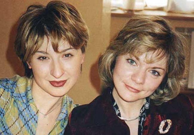 Актрисы Марьяна Ионесян и Наталья Мурашкевич (Гусева)