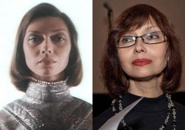 Елена Метелкина, сыгравшая сотрудницу Института времени Полину