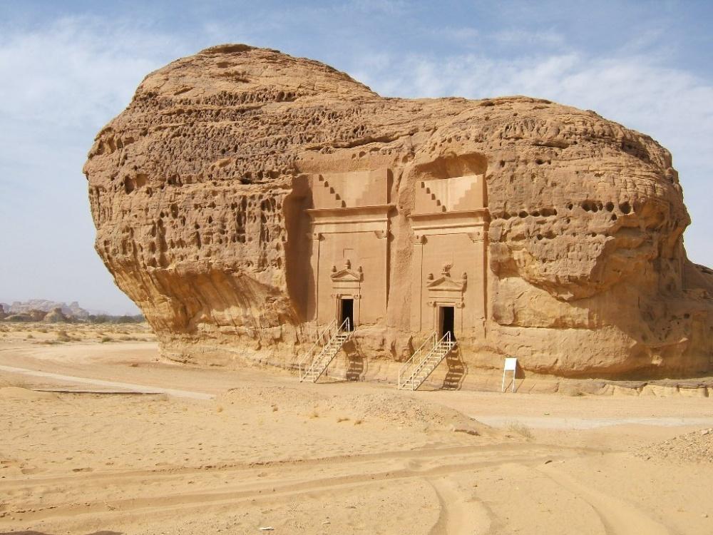 Комплекс археологических объектов Мадаин-Салих в Хиджазе на северо-западе Саудовской Аравии