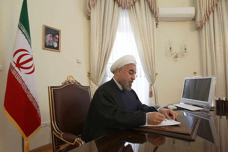 Рабочий кабинет президента Ирана