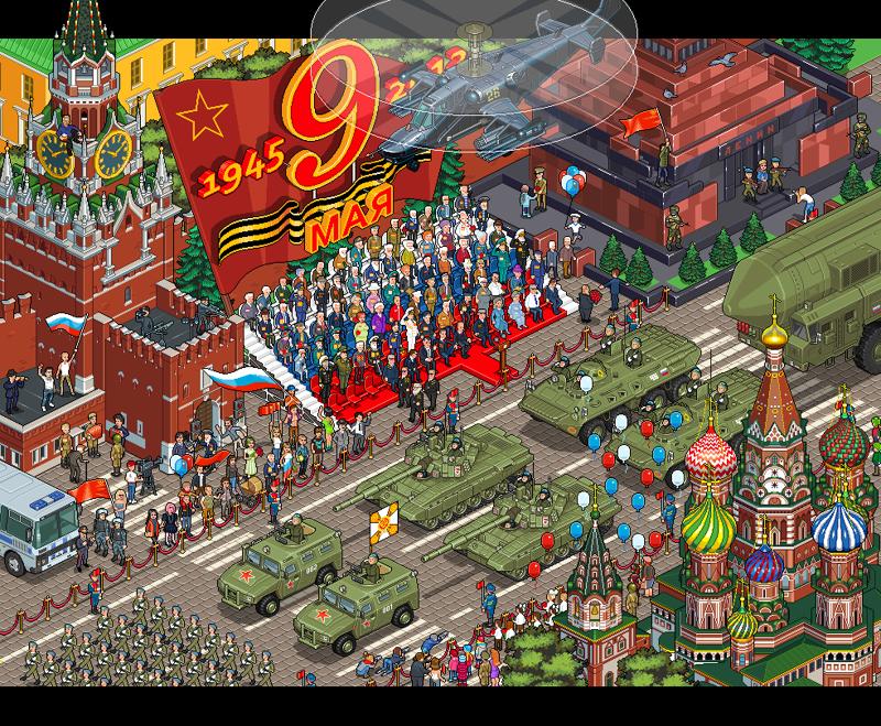 Иллюстрации Pixel Art, которые можно разглядывать часами