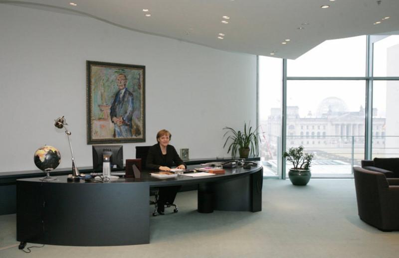 Рабочий кабинет канцлера Германии