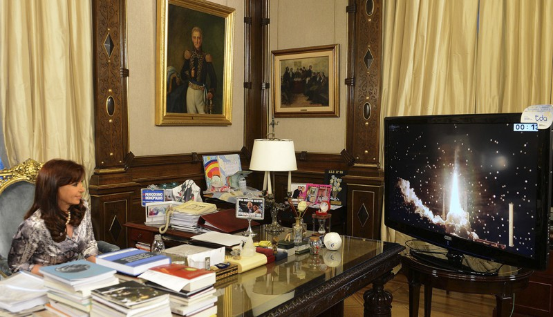Рабочий кабинет президента Аргентины