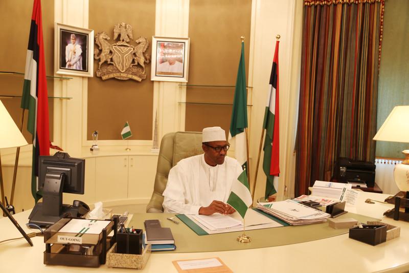 Рабочий кабинет президента Нигерии