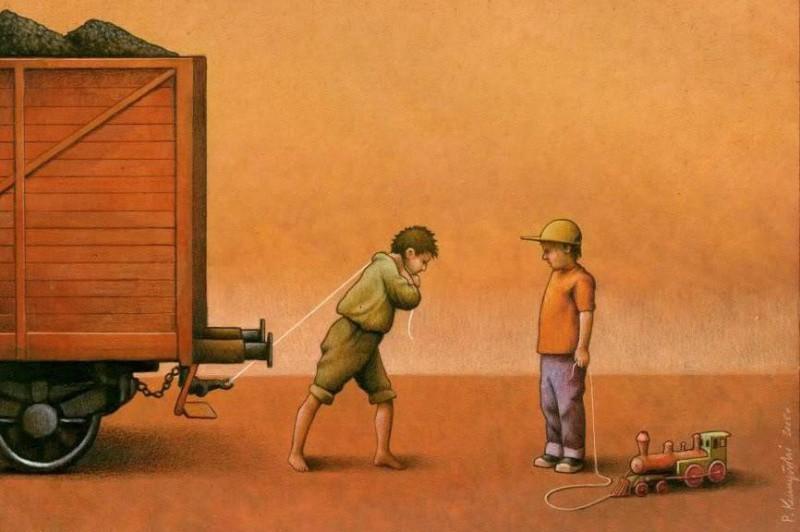 Разное детство