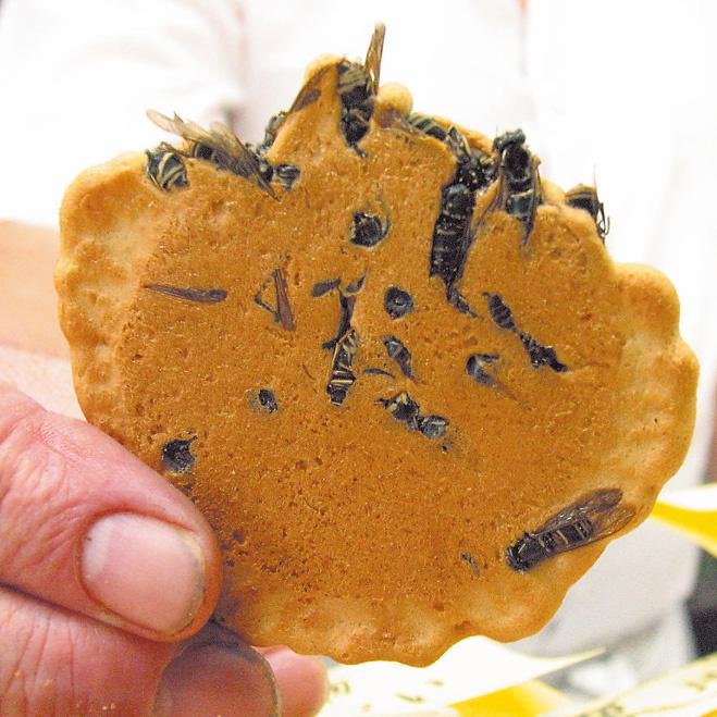 Осиное печенье. Япония.