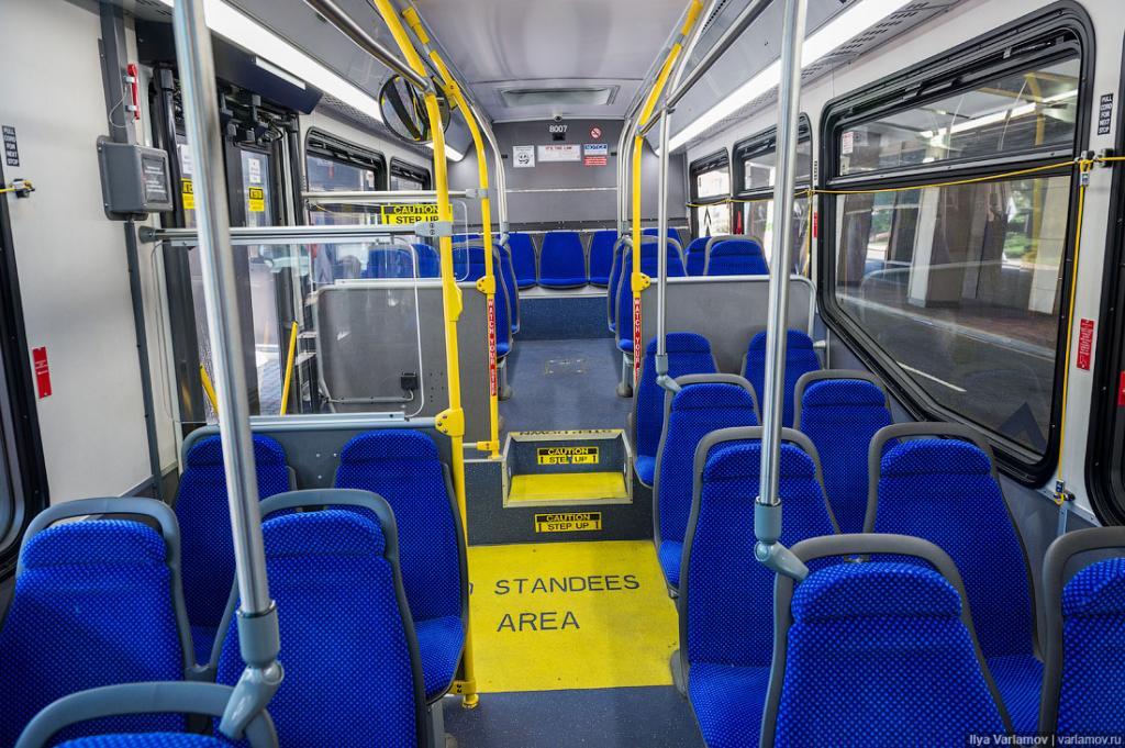 Автобусы обычные.