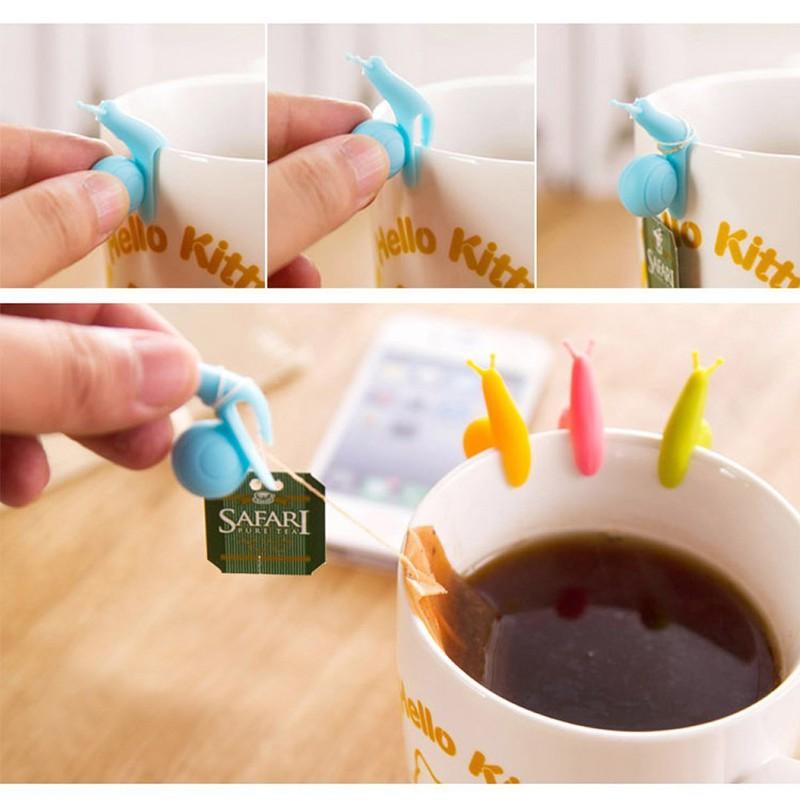 Улитки для крепления чайных пакетиков — 53,84 руб.