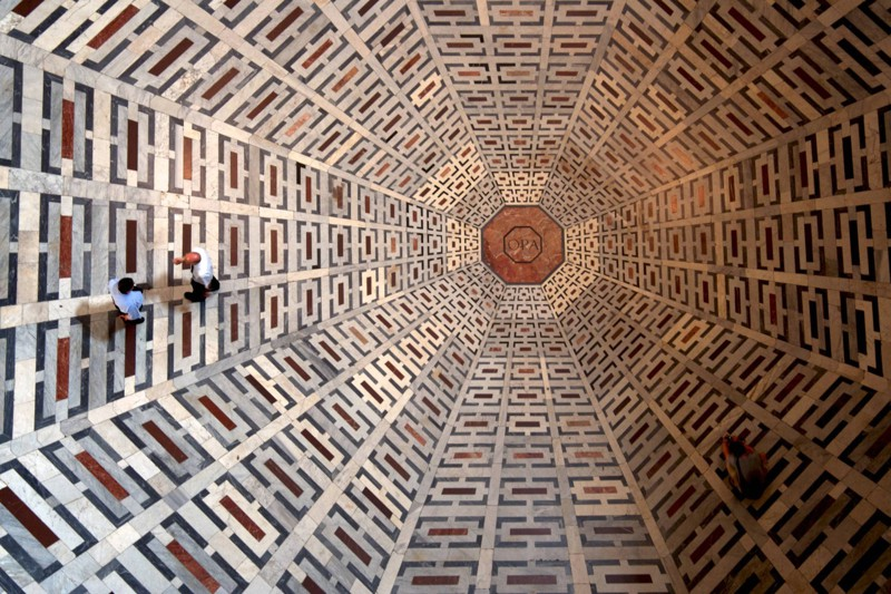 Пол в соборе Санта-Мария-дель-Фьоре