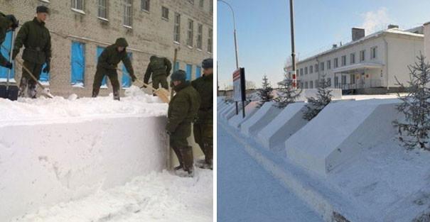 Наказание уборкой снега