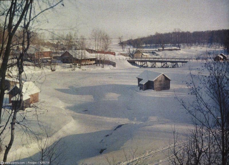 Яуза. У моста на Осташковской дороге, сейчас это Бабушкинский район.