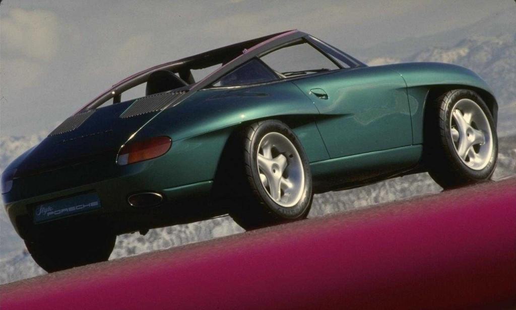 Автомобиль был подарен на день рождения директору компании Porsche Ферри Порше в 1989 году. Примечательно, что его дизайн разрабатывал Харм Лагаай, тот самый, который несколько лет спустя подарил миру легендарный Porsche Boxster.