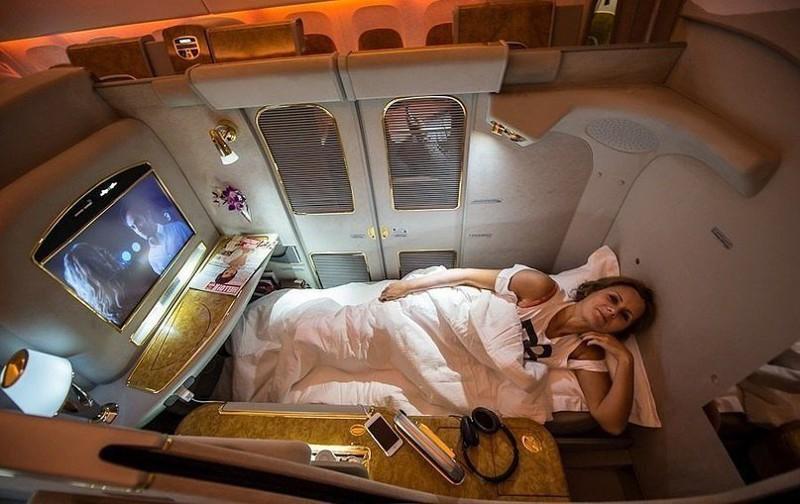 Полёт первым классом на авиакомпании Emirates