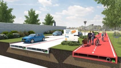 Пластиковые дороги - революция в мире транспорта