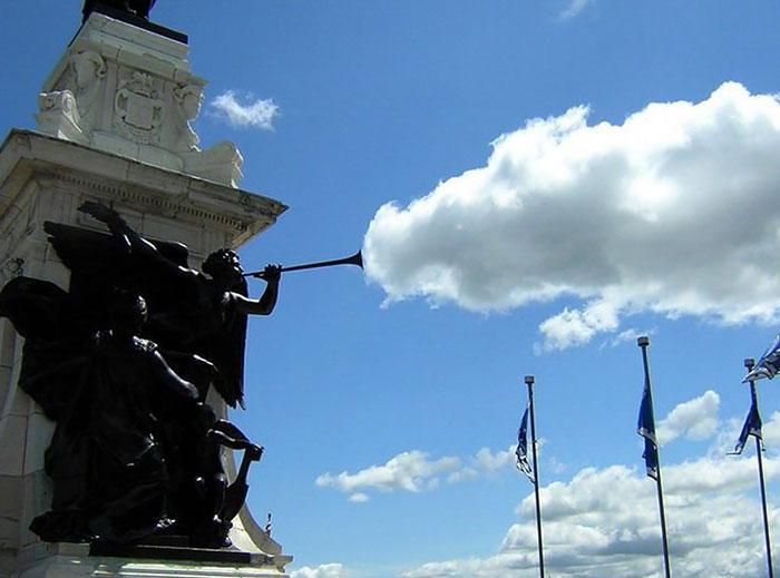 Облака в виде драконов и других зрительных иллюзий