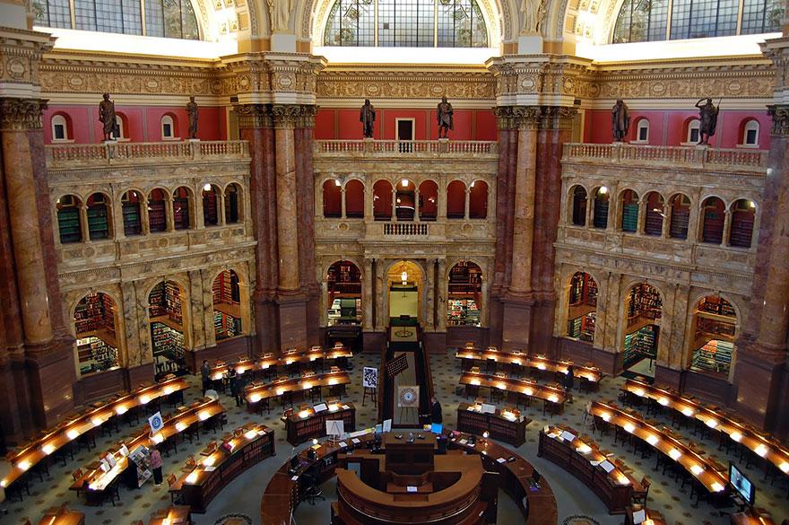 Библиотека Конгресса, Вашингтон, США