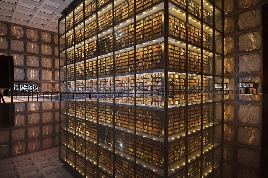 Библиотека редких книг и рукописей Бейнеке, Нью-Хейвен, Коннектикут