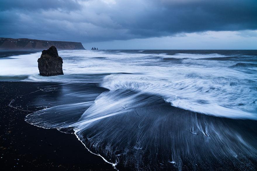 Пляж Вик, Исландия