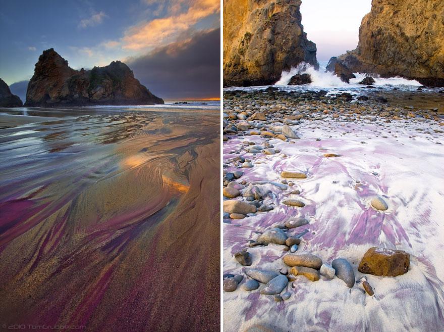 Пляж Пфайфер, Калифорния, США