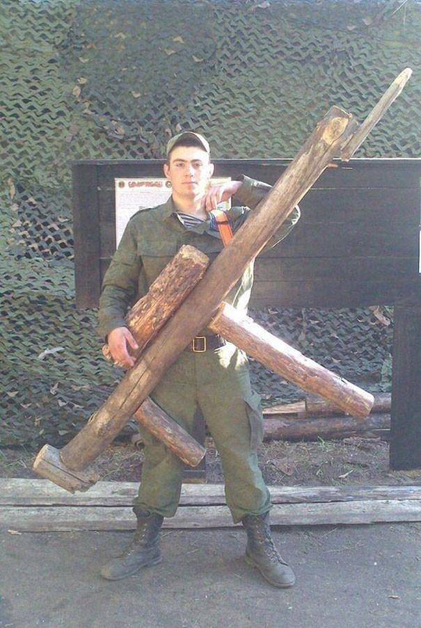 Суровые наказания в армии России