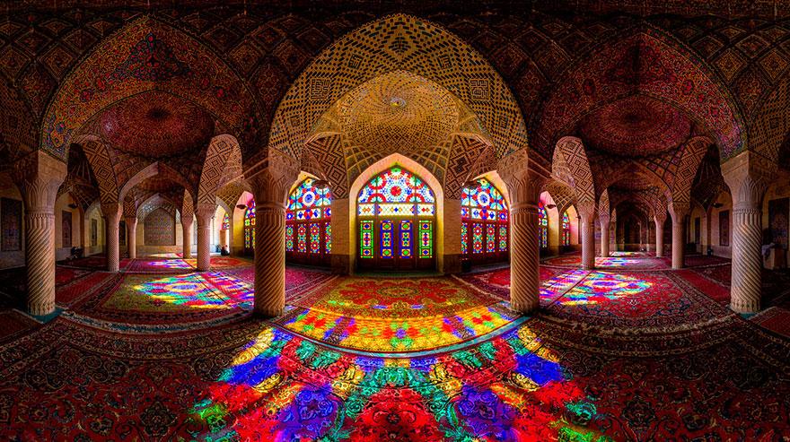 Мечеть Насир-ол-Мол, Шираз, Иран