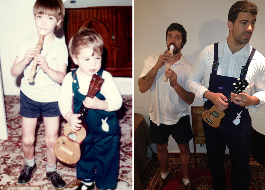 before-and-after-brothers-childhood-photos-parents-anniversary-gift-8
