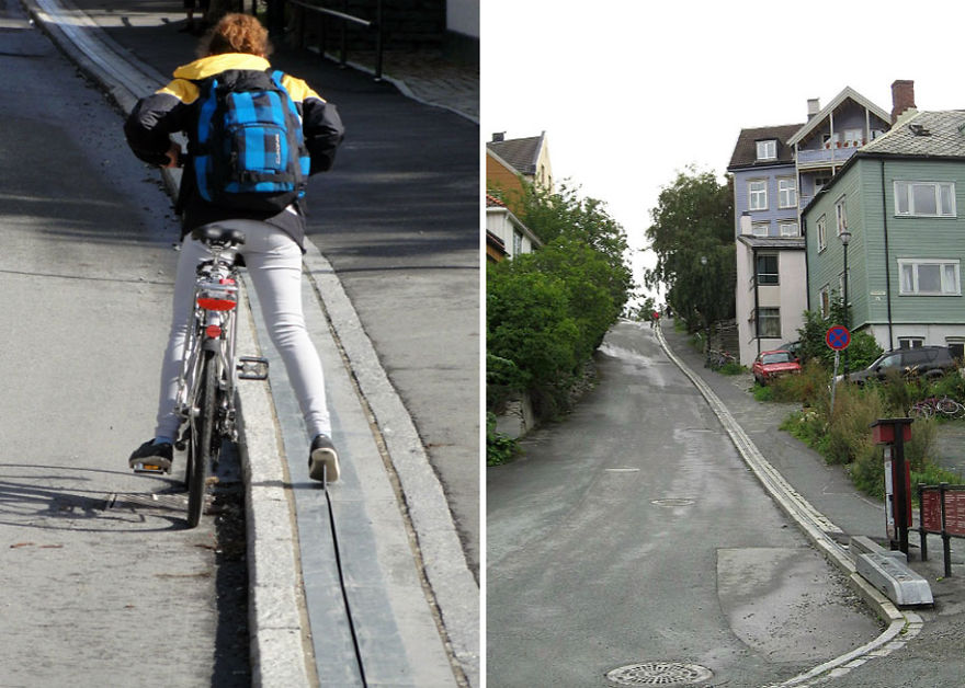 bicycle-escalator-cyclocable-trondheim-norway__880