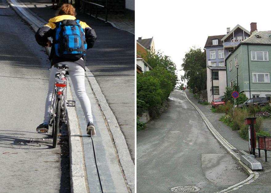 bicycle-escalator-cyclocable-trondheim-norway__880