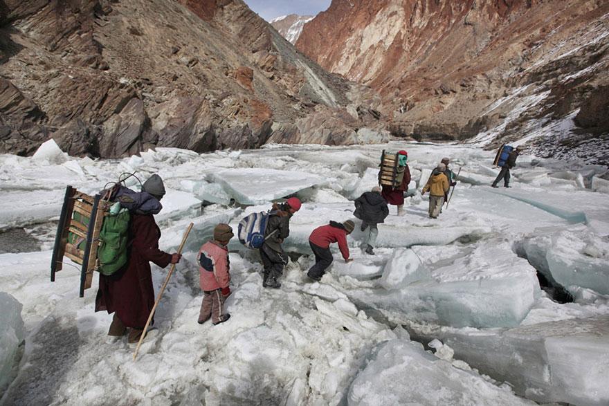 Дорога в школу через Гималаи, Занскар
