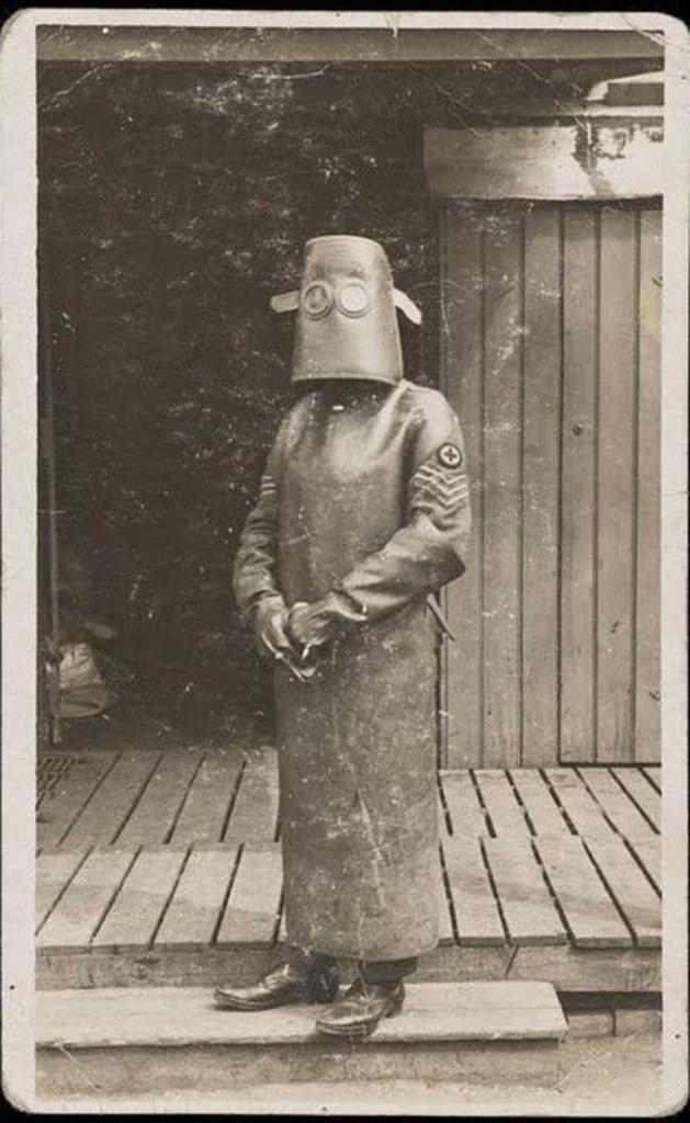 Костюм медсестры из рентген-кабинета, 1918 год