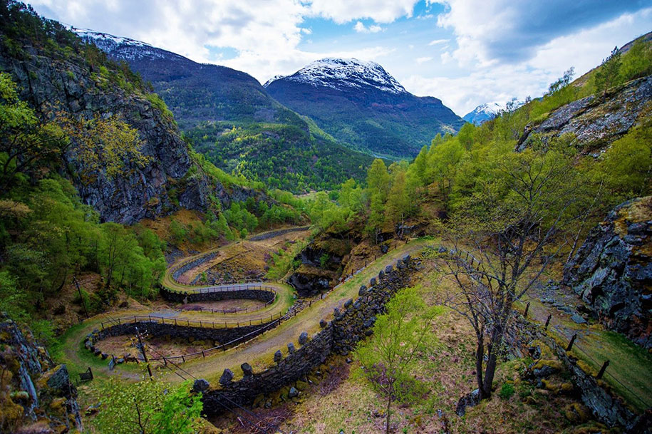 Дорога Vindhellavegen