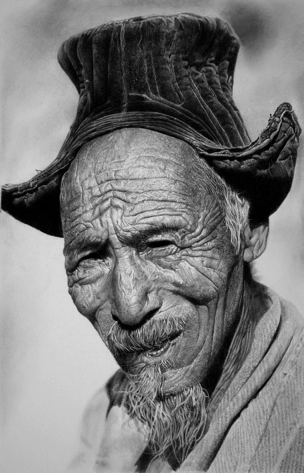 Работы карандашом Франко Клуна