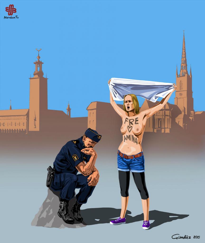 Полиция в Швеции