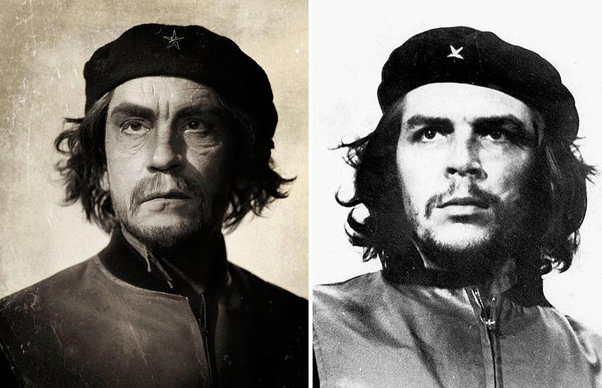 Фото Сандро Миллера/ Че Гевара (1960 год). Фото Альберто Корды