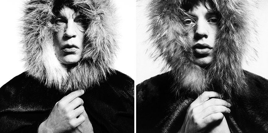 Фото Сандро Миллера/ Мик Джаггер (1964 год). Фото Дэвида Бэйли