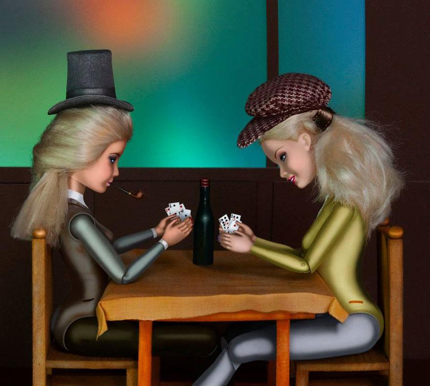 «Игроки в карты» Поля Сезанна