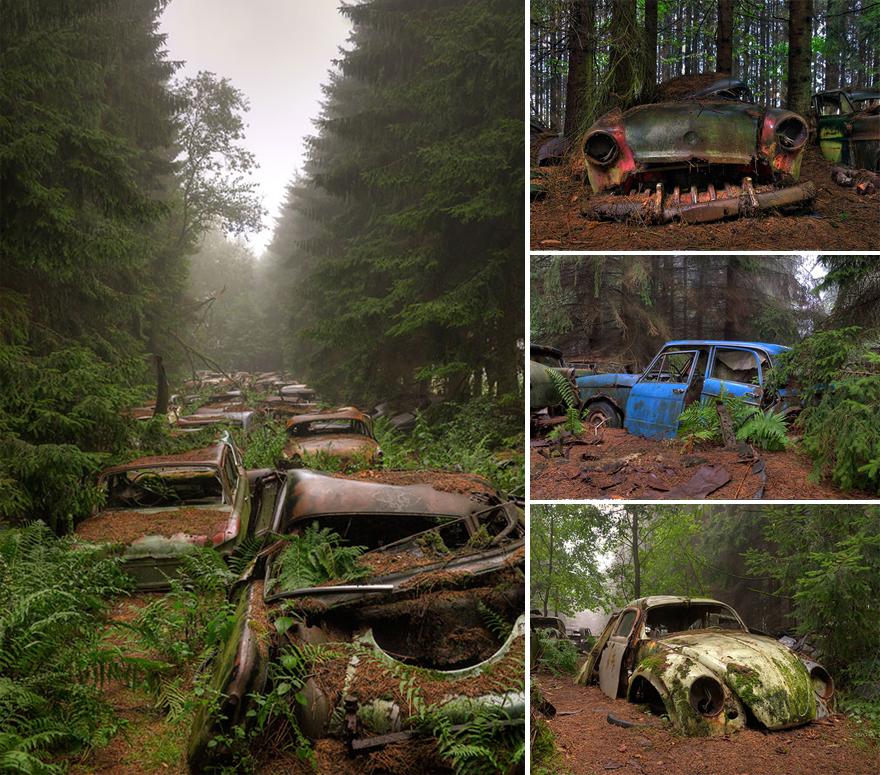 Кладбище автомобилей, Бельгия