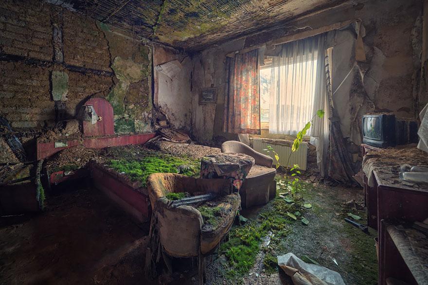 Покинутый гостиничный номер