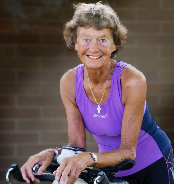 83-летняя бегунья Мадонна Бадер