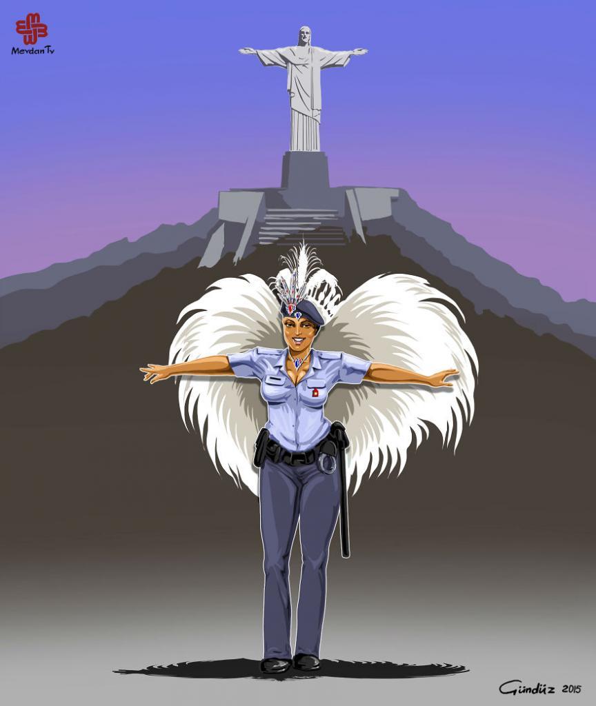 Полиция Бразилии