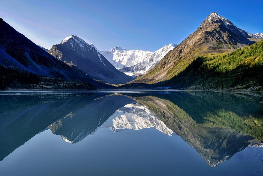 Катунский хребет горного Алтая