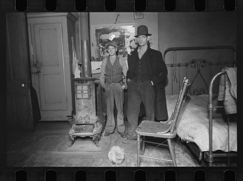Гостинная. Штат Огайо. Декабрь 1935 года.