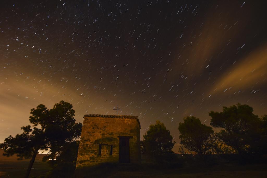 """""""Звёздный дождь"""" образуется в результате сгорания в атмосфере Земли мелких частиц, размером с песчинку."""