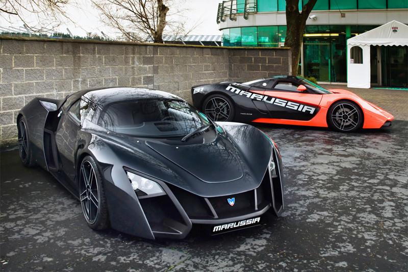 Это российская автомобильная компания, производившая спортивные автомобили под маркой Marussia. Основана в 2007 году российским актером, шоуменом и автогонщиком Николаем Фоменко совместно с предпринимателем Ефимом Островским. В апреле 2014 года компания объявила себя банкротом, а всё имущество было распродано.